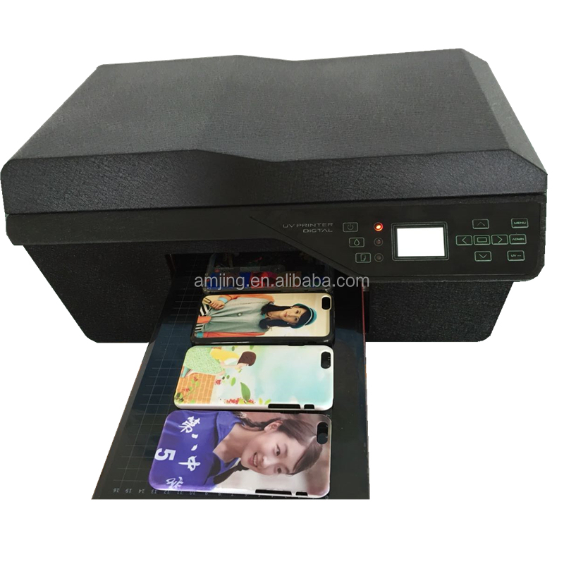 Most popular new model mobile phone cover printing machine
