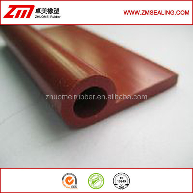Custom P Shaped Silicone Extrusion Seal Strip