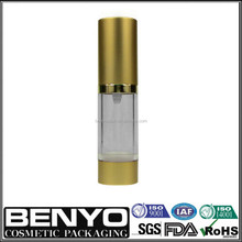 New Year's Promotional Airless Bottle for Cosmetic Oil Container