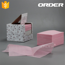 22mesh spunlace nonwoven novelty cleaning cloth for Restaurant