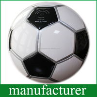 PVC Bling Leather Sewing Machine Soccer Ball Size 5 for Training/ Promotion