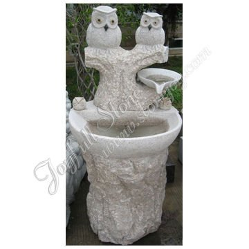 Stone Animal Water Fountain