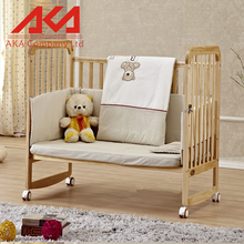 Fence Guard Solid Wood Toddler Bed