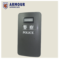 Riot control equipment ballistic shield