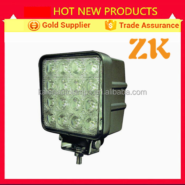 Auto truck trailer off road vehicle IP67 waterproof 48w led work lights