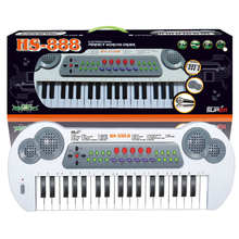 Preschool Electronic Piano With Microphone Kids Keyboard Toys