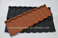black slate roof tile/ Antique steel roof tile/aluminum roofing