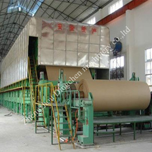 Widely Used 2400mm Paper Mill manufactures Kraft Paper Carton Paper Making Machine