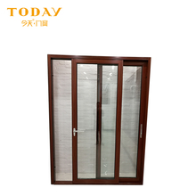Hot sale cheap glass slide doors