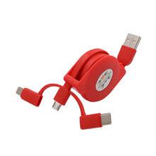 Hot sale 3 in 1 Micro USB data cable for samsung ,Android phones