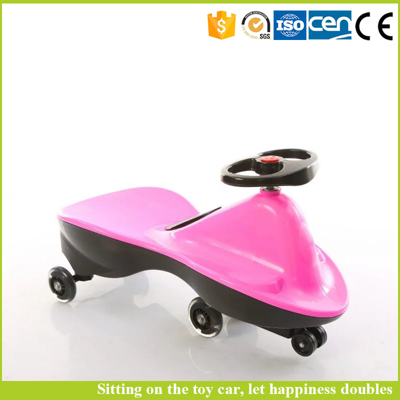 China factory children sport car LN-SW-0004 pu wheels kids baby swing car