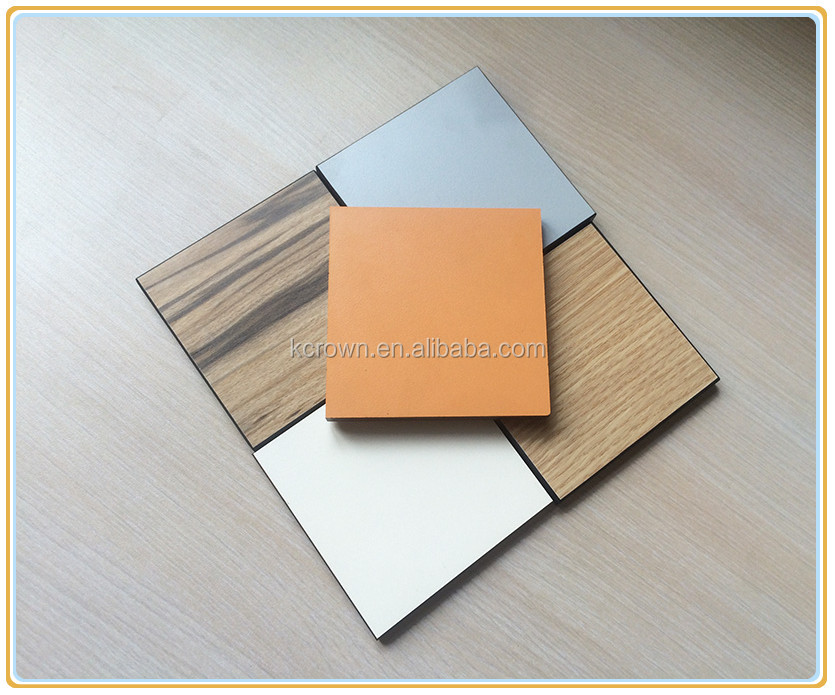 Fireproof Compact Laminate Flower Design HPL Board for Furniture