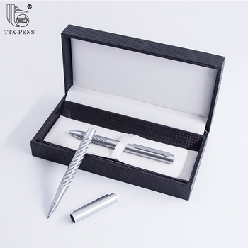 office promotional gift pen gift box leather