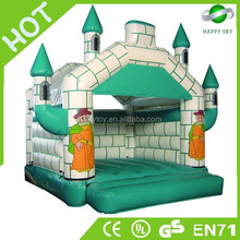 Hight quality 0.55mm PVC inflatable bouncer,jolly jumper adult,airplane bouncer
