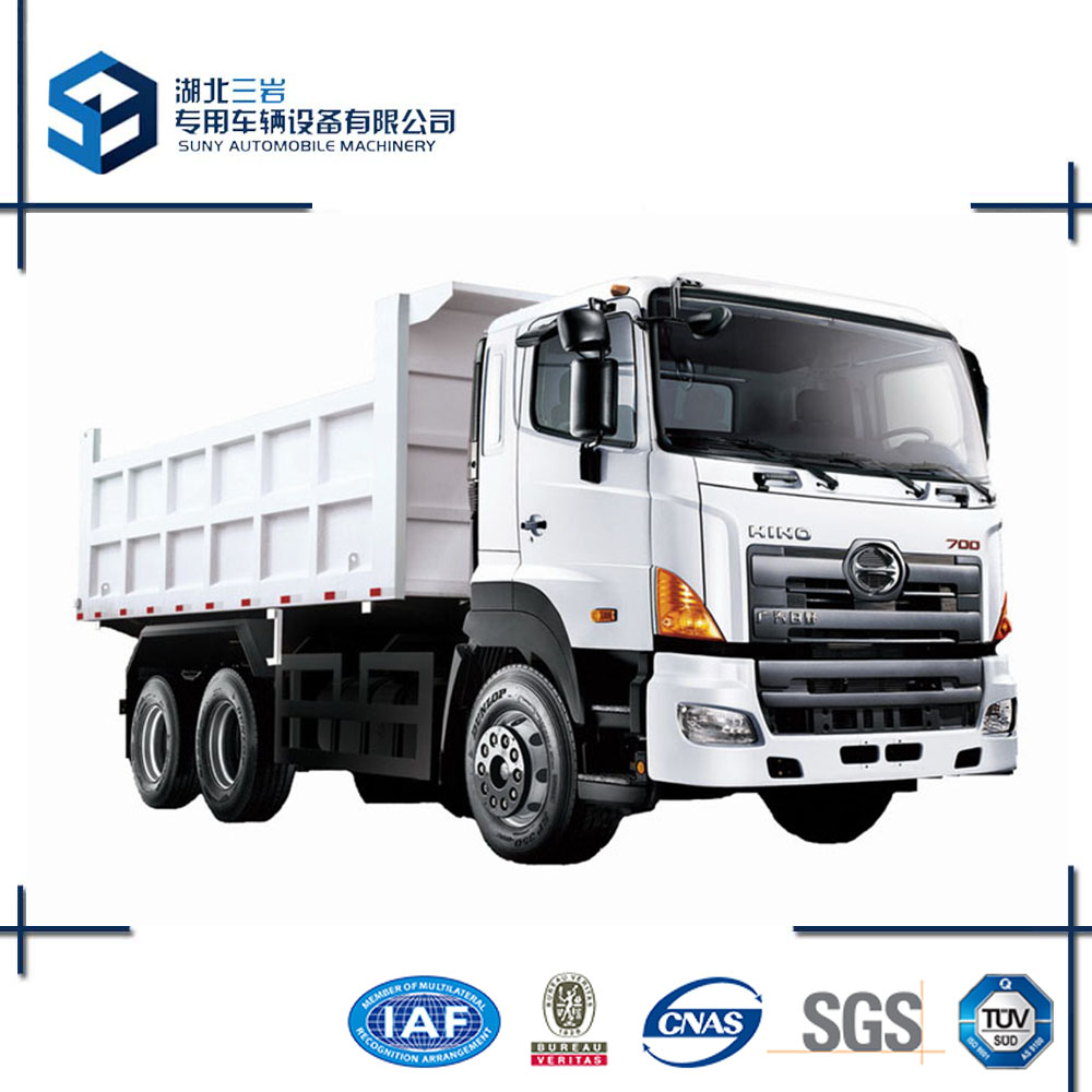 2016 China new condition HINO 700 6X4 Dump Truck For Hot Sale