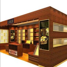 High-end customized store cigarette cabinets, display shelves of cigarette