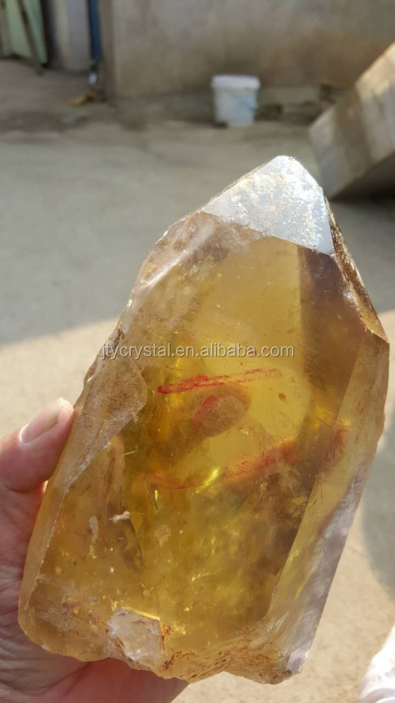 Untrimmed Facet Rough Citrine price carat Gemstone natural rough watermelon tourmaline wholesale/green and yellow rough crystal