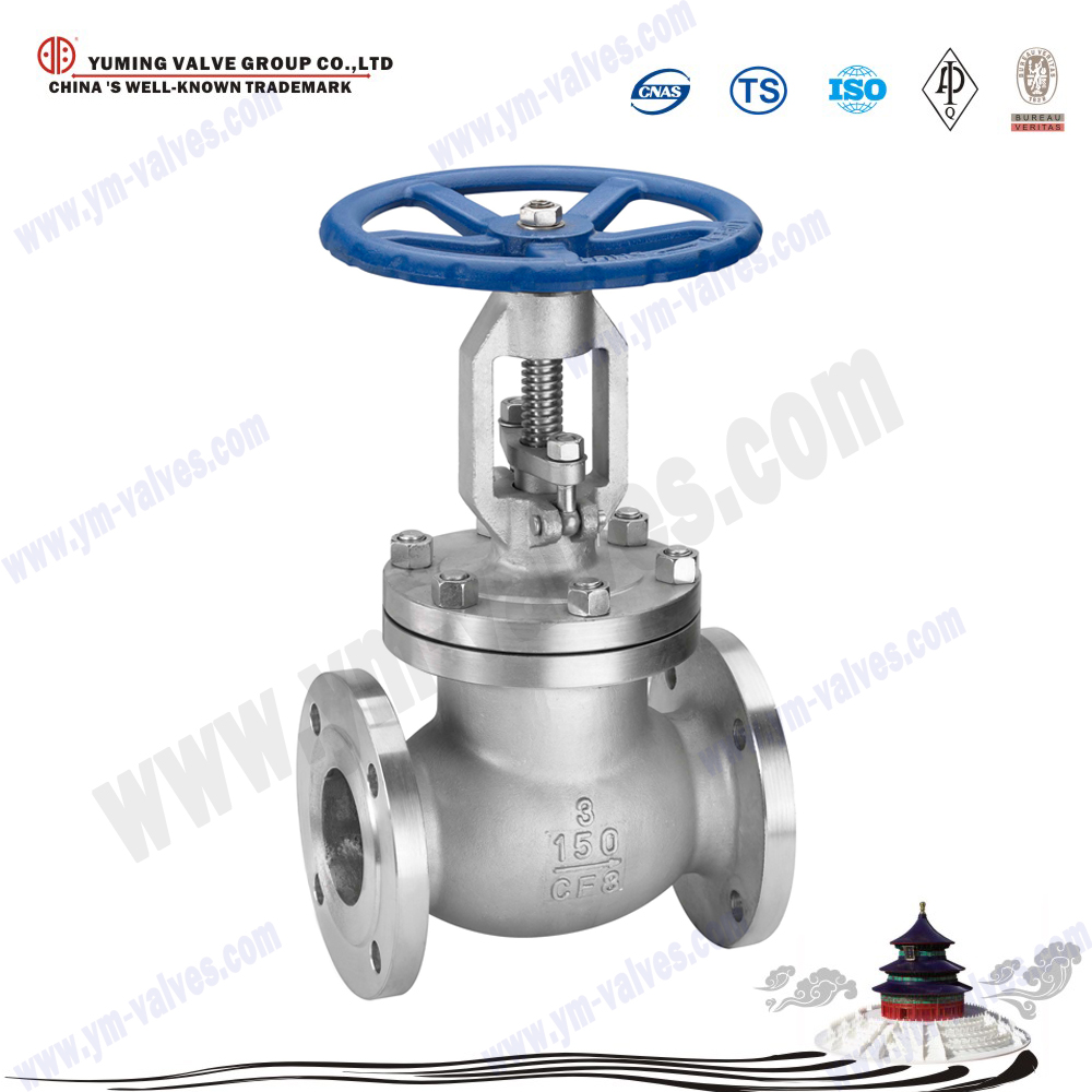 API 6A Standard CF8/CF8M stainless steel 316,304,a216 Wcb Flanged ends globe valves pn16 drawing