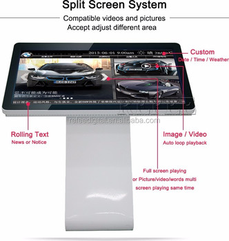 Refee cheap touch screen 32inch touch screen pc all in one
