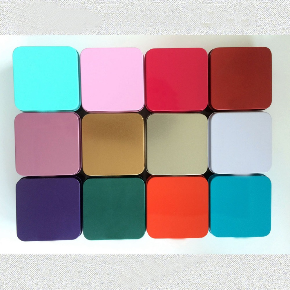 Durable Multi-functional Square Metal Soap Tin Box
