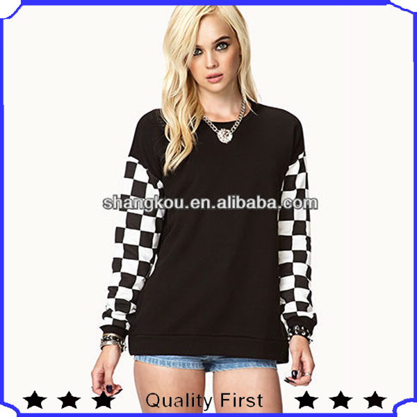 girls blouse design, top fashion brand designers clothing ladies long sleeve simple winter fashion sweatshirt and warm tops