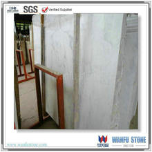 Natural stone Oriental white polished marble slab in Chinese supplier