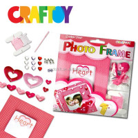 EN71 Craft toy kit Create your Heart photo frame