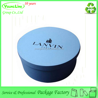 Customized large round hat favor box
