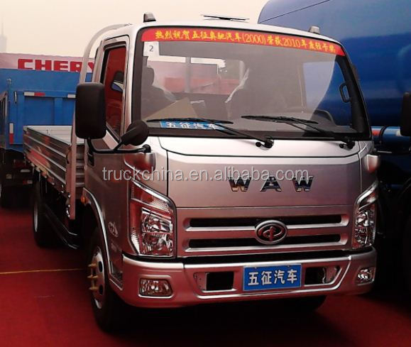 China WAW Brand Gasoline & Petrol 4x2 mini truck small cargo trucks for sale