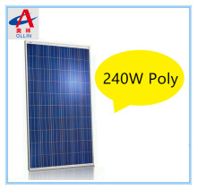 240W poly solar panel ,2017 spring Jump off property prices 30V PV module
