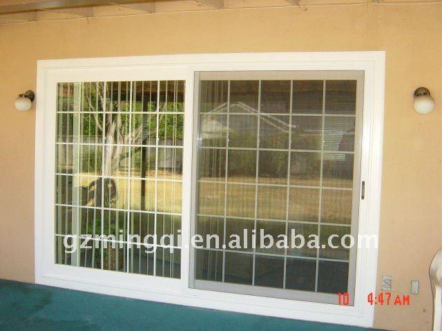 Pvc scorrevole balcone finestra di progettazione griglia vetrino id prodotto 518830997 italian - Griglia regolabile protezione finestre ...