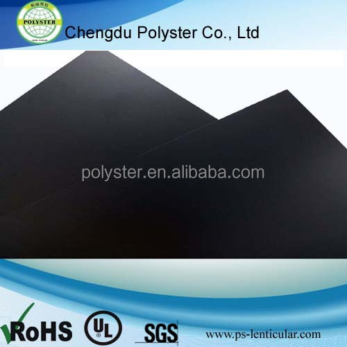Black fire retardent pc film for electronics device insulation and EMI shielding US 4.5 / Kilogram price
