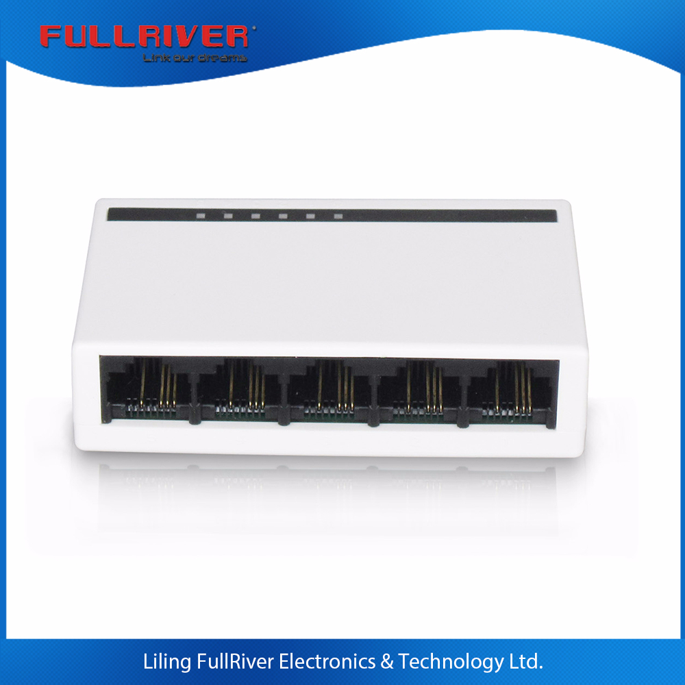 5 Port Network Switch 5v 500mA Unmanaged Fast Ethernet 100Mbps