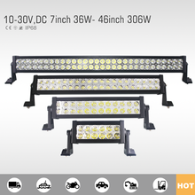 Hot sales led light bar for off road atv suv and so on