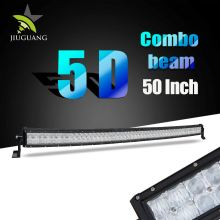 Irradiation Area Improved 60% 480W Dual Row 5D Offroad 50 Inch LED Light Bar