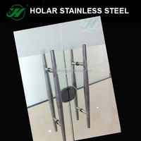 304 Stainless Steel Push Pull Glass