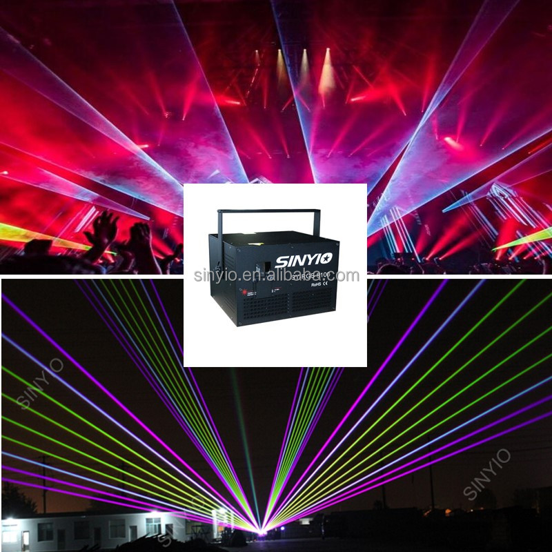 NEW Stage Effect DMX Laser Light RGB Disco Laser Projector Show Equipment System For DJ/Party/Club/KTV