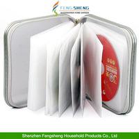 CD Dvd 40 Disc Case Wallet Holder Bag Carry Cover Plastic Games Disk Storage Bag