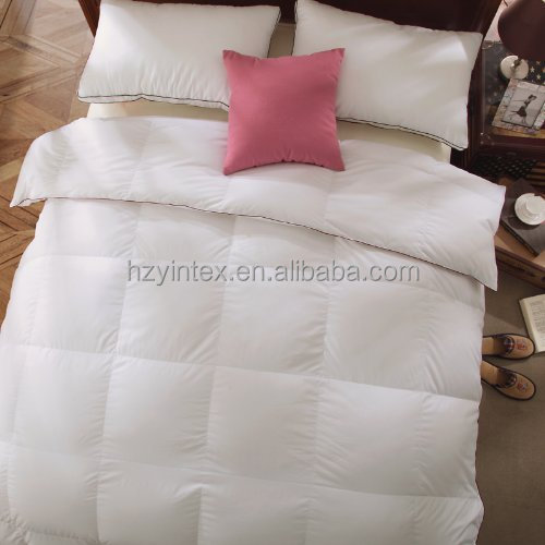 SB/DB/QB/KB/SK 50/50 White Duck Down Feather Winter Quilt/Blanket/Duvet