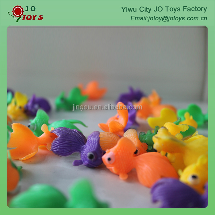 For Vending Machine plastic novelty fish, mini plastic fish toy