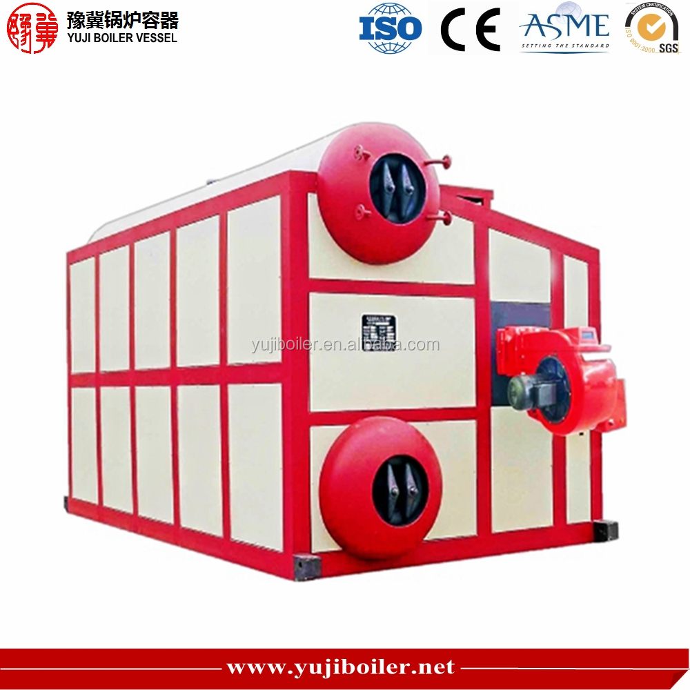High Efficiency SZS10 to 65 t Diesel Oil Gas Fired Steam Boiler Price