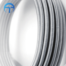 Water Stainless Steel Wire Braided Flexible Metal Hose , 304 Knitted Hose