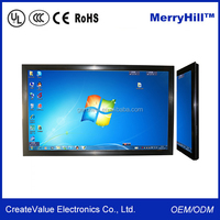 55 inch wall mounted lcd advertising display screen remote control android simon digital signage wifi