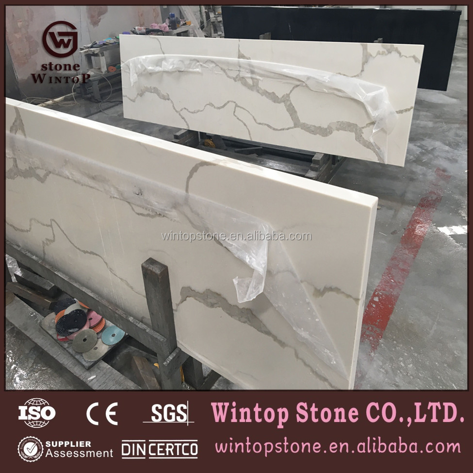 Solid Surface Artificial Quartz Countertops Hot Sale in United States