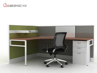 made in China office desk legs metal office 2 person office desk