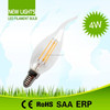 BEST selling high power 4w small led candle lights filament bulbs
