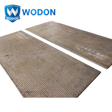 China gold supplier abrasion and impact resistant cco wear plate