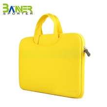 Unisex OEM laptop tote bag carrying case lightweight laptop sleeve handle bag protective cover briefcase for macbook notebook