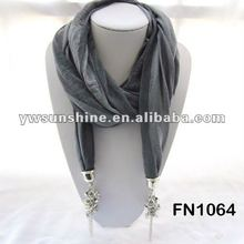 2012 wholesale scarf with jewelry