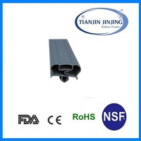 Refrigerator sealing strip/ rubber strips Customized/standard and nonstandard EPDM and PVC